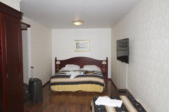 Best Western Laegreid Hotell: La stanza da un lato ....