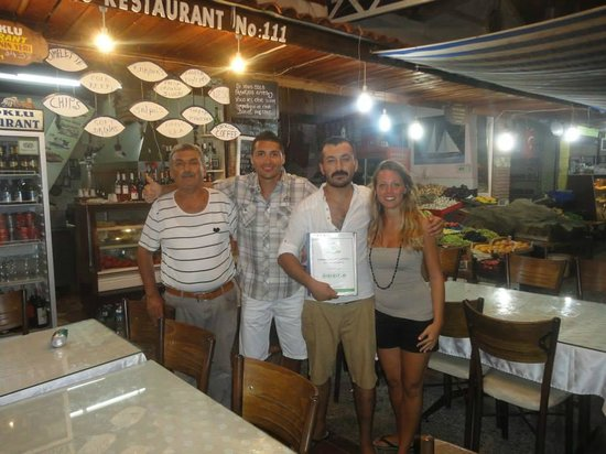 Oztoklu Restaurant : con lo staff