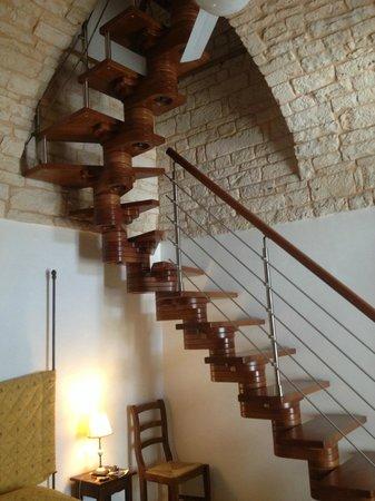 Tipico Suite: Treppe nach oben