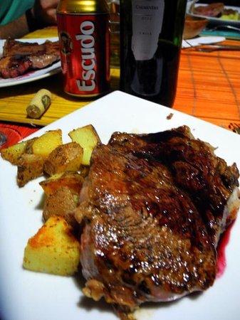 Etnico: A delicious steak