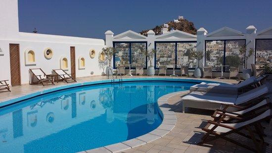 Lofos Village Hotel: pool area