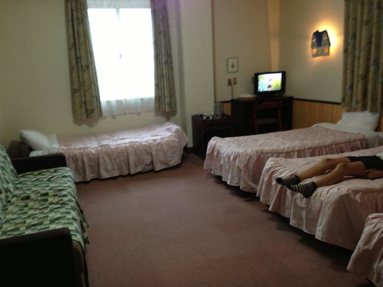 Resort Hotel Rosenheim Hakuba: 広いっ