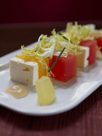 Paramour at Wayne Hotel: Compressed Watermelon Salad
