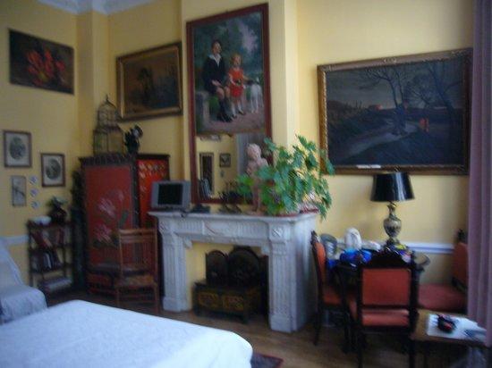 Hotel Les Bluets: Camera