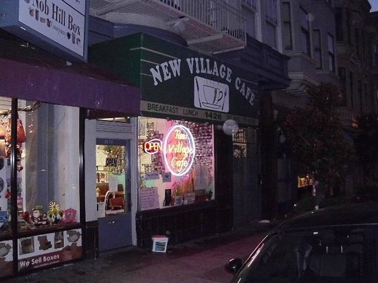 The New Village Cafe : Early start