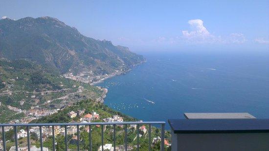 Hotel Villa Fraulo: View from balcony