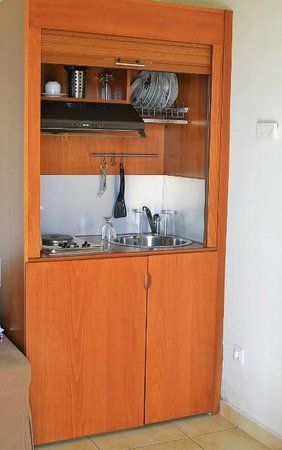 Kiani Beach Resort : kitchenette