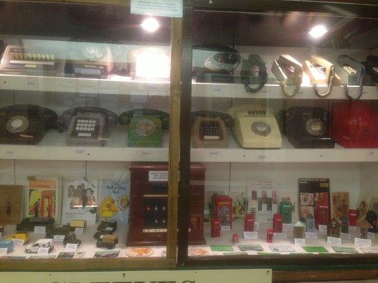 Bognor Regis Museum: old telephones