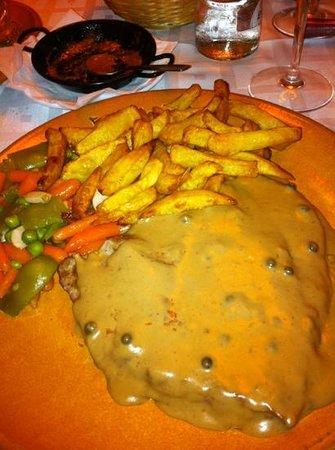 Pork fillet in peppercorn sauce delicious picture of casa emilio arroyo de la miel - Casa emilio benalmadena ...