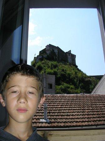 Hotel Saint Etienne : vue sur le château