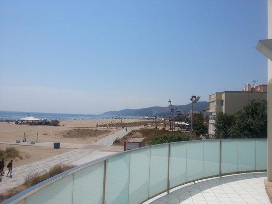 Hotel Playafels: Balcony facing the sea