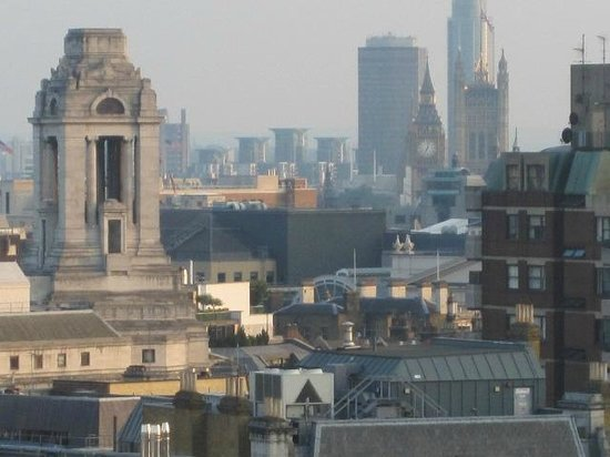Grange Holborn Hotel: View from the rooftop