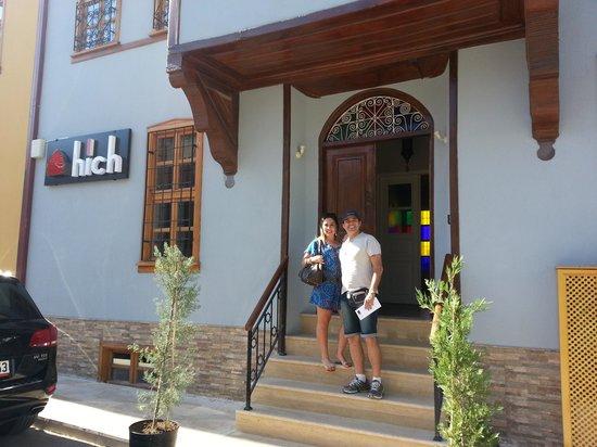 Hich Hotel Konya: Entrada do Hotel.