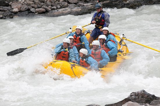Glacier Raft Company - Day Tours: ahhh, we are going down