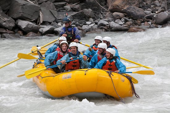 Glacier Raft Company - Day Tours: relax, its over