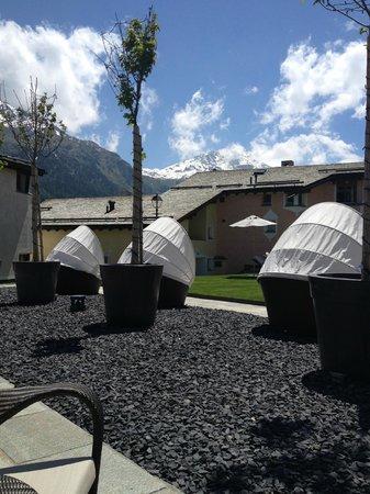 Giardino Mountain: Terrasse