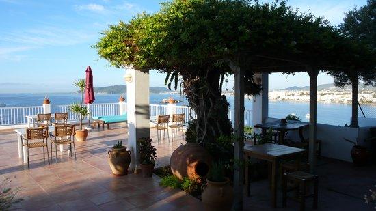 Hostal MarBlau Ibiza : Terras