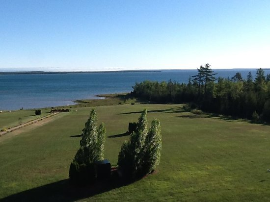 Kewadin Shores Casino and Hotel: View from our room