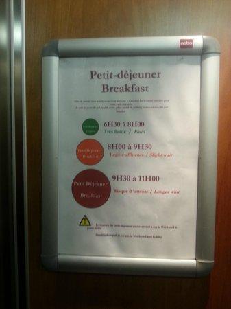 Novotel Luxembourg Centre : Gute (Frühstücks-)Zeiten, schlechte Zeiten