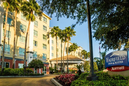 Fairfield Inn & Suites Orlando International Drive/Convention Center: Beautiful New Landscaping