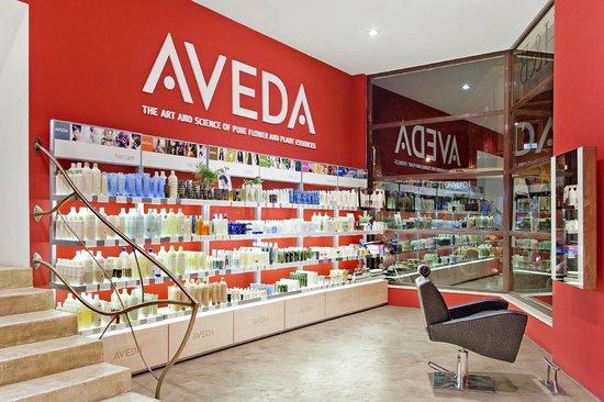 Aveda Hair & Beauty: Area shopping