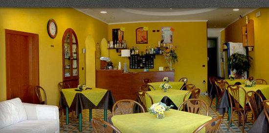 Villino Gregoraci Relais: breakfast room
