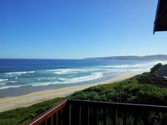 Dolphin Dunes Guesthouse: Beach View