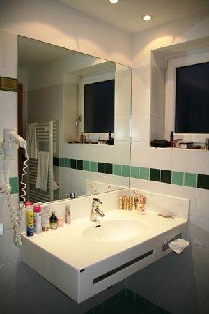 Landhotel Reitingblick: Badezimmer