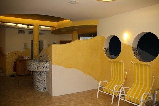 Landhotel Reitingblick: Wellnessbereich mit Ruhesaal