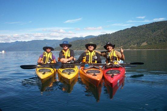 Andes Explora: Team Pumalin
