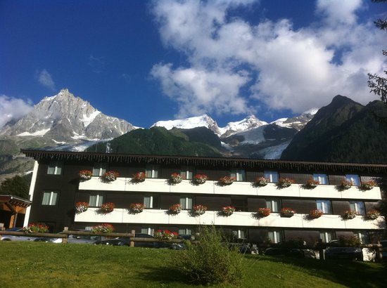 Mercure Chamonix Les Bossons : Hotel with wonderful views
