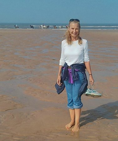 Holkham National Nature Reserve: Our day on the beach at Holkham