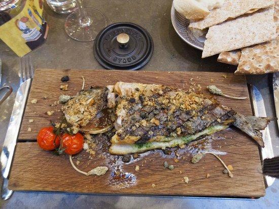 Riche: Grilled sea bream