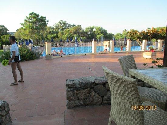 Club Valtur Colonna Beach : Vista piscina dal bar