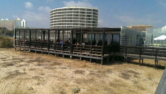 O Retiro na Praia : nice view outwards