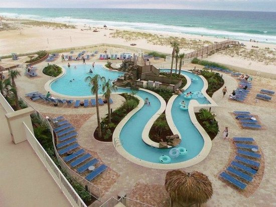 Holiday Inn Resort Pensacola Beach Pool Lazy River On The