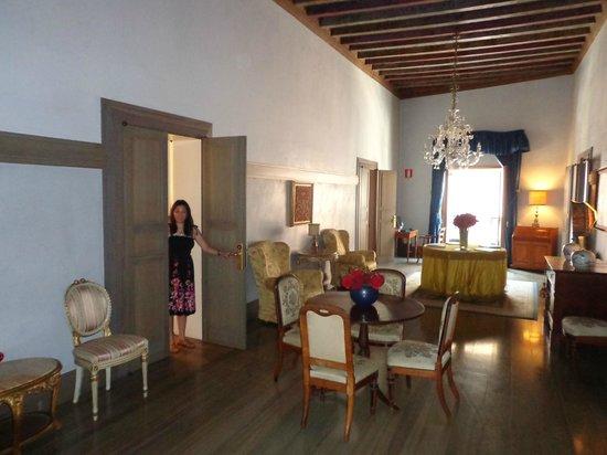 Albergo Cappello : common room