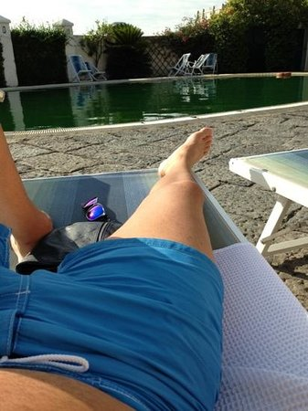 Hotel Terme Castaldi: acqua verde!!!