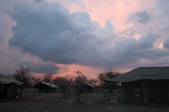 Ronjo Tented Camp : sunset