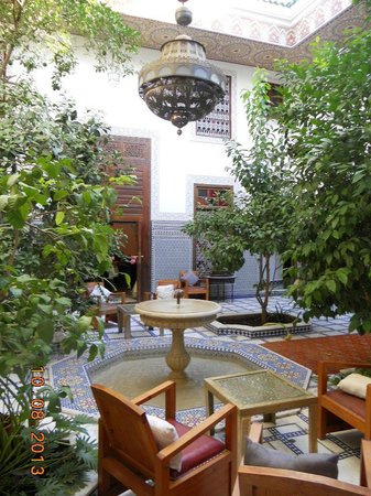 Riad Souafine: Il patio
