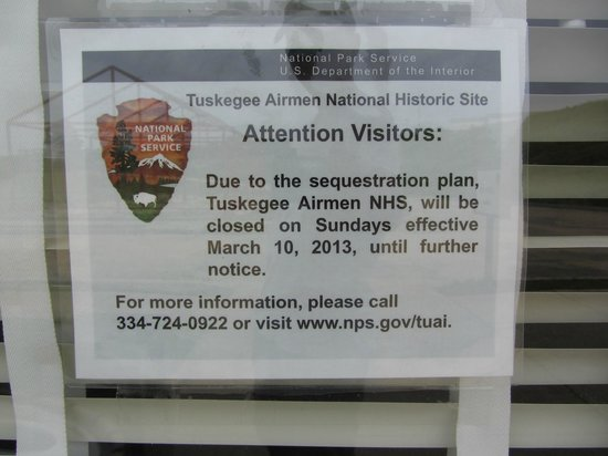 Tuskegee Airmen National Historic Site: Close Sunday