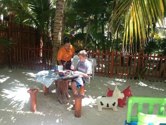 El Dorado Maroma, by Karisma: Even the kids got special service!
