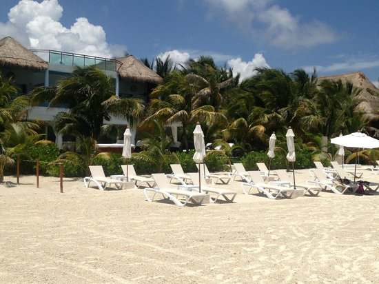 El Dorado Maroma, by Karisma: The beach!