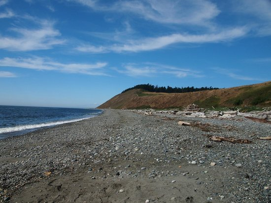 Ebey's Landing National Historical Reserve: Looking back at where we'd been