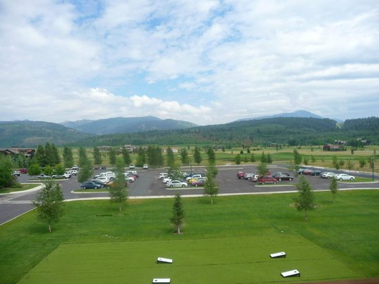 Teton Springs Lodge and Spa: View from the room.