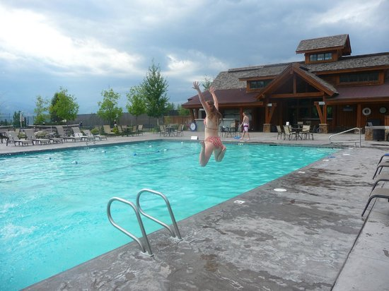 Teton Springs Lodge and Spa: Great sized pool