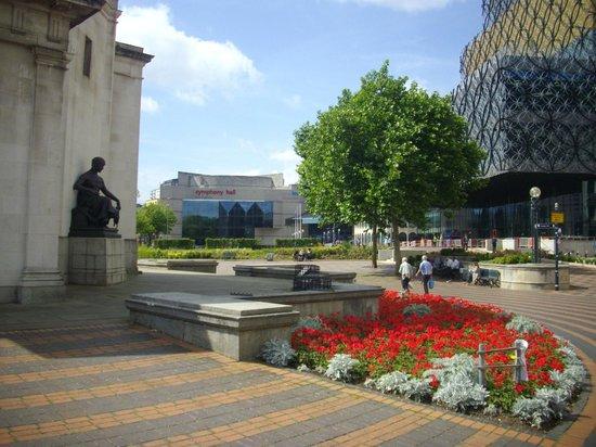 Centenary Square: HALL OF MEMORY TO LEFT
