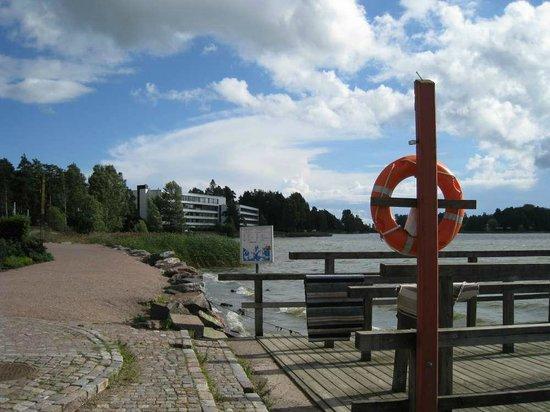Hilton Helsinki Kalastajatorppa: nearby view of the hotel