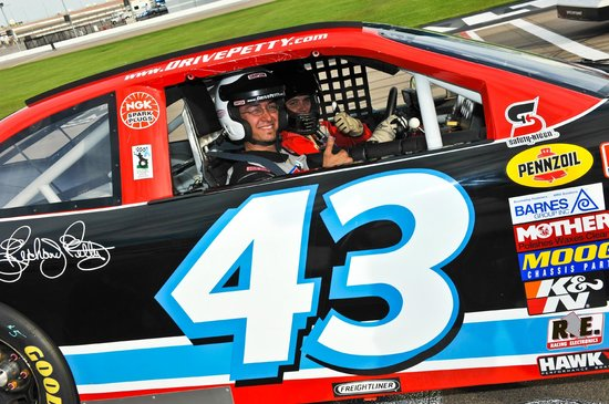 Richard Petty Driving Experience: 600HP will bring out the Petty in anyone!