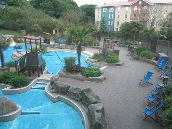 View From Above Picture Of Alton Towers Waterpark Alton Tripadvisor